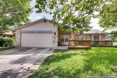 San Antonio Single Family Home New: 14402 Briarpoint St
