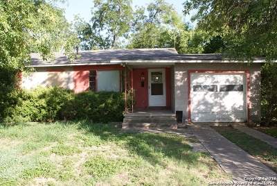 San Antonio Single Family Home New: 130 Vaughan Pl