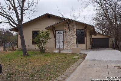 San Antonio Single Family Home New: 6162 Bark Valley Dr
