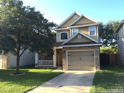 San Antonio Single Family Home New: 747 Sycamore Moon
