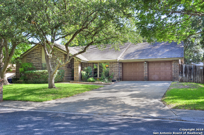 San Antonio Single Family Home New: 15238 Oak Spring St