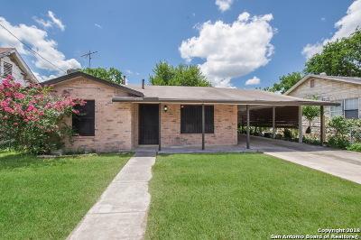San Antonio Single Family Home New: 334 McCauley Blvd