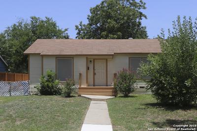 San Antonio TX Single Family Home New: $95,000