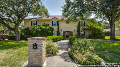 San Antonio Single Family Home For Sale: 205 Vista Robles St