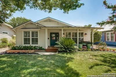 Alamo Heights Single Family Home New: 220 Argo Ave