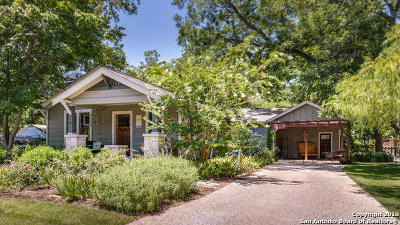 Boerne Single Family Home New: 142 Mesquite St