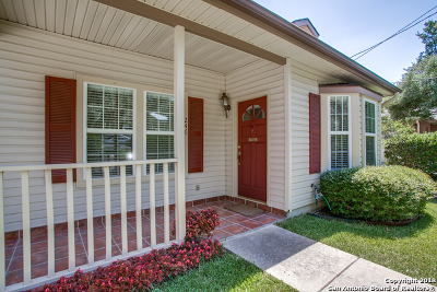 Alamo Heights TX Single Family Home For Sale: $475,000