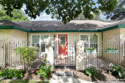 San Antonio Single Family Home New: 16603 Burr Hill St