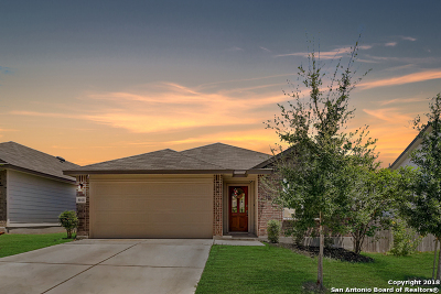 San Antonio Single Family Home New: 8018 Eclipse Bend