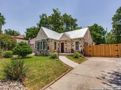 Olmos Park Single Family Home Active Option: 310 E Melrose Dr