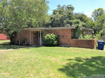 San Antonio TX Single Family Home New: $77,500
