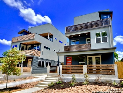 San Antonio Condo/Townhouse New: 615 Fulton #4