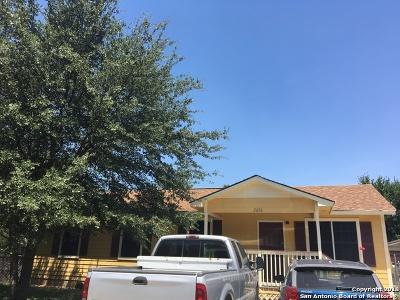 San Antonio Single Family Home Back on Market: 2606 Tucker Dr