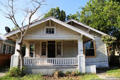 San Antonio Single Family Home New: 1206 Nolan St