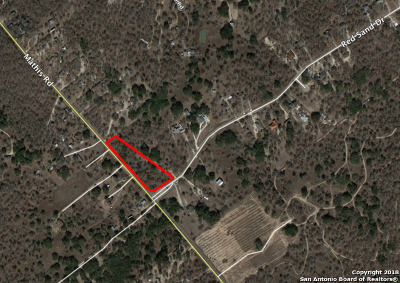 San Antonio Residential Lots & Land New: 22783 Red Sand Drive