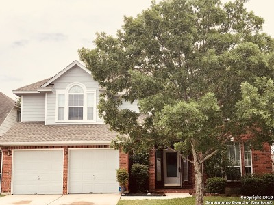 San Antonio Single Family Home New: 24938 Crescent Trace
