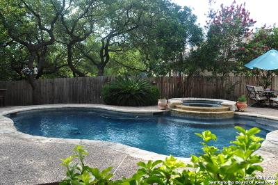 San Antonio Single Family Home Price Change: 12026 Vintage Pt