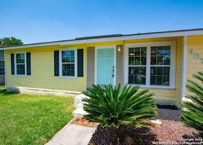 San Antonio TX Single Family Home New: $139,900