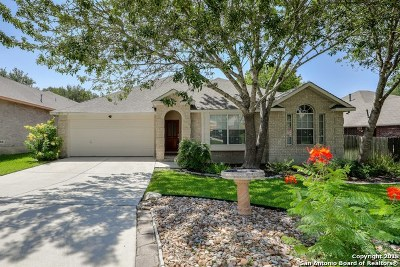 San Antonio Single Family Home New: 14814 Adios