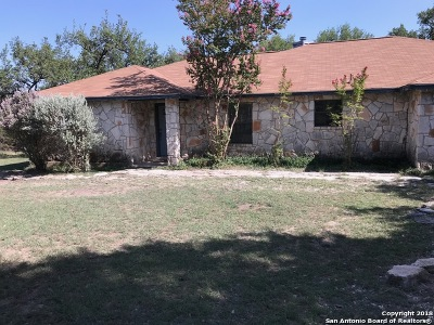 Comal County Single Family Home New: 4852 W Ammann Rd