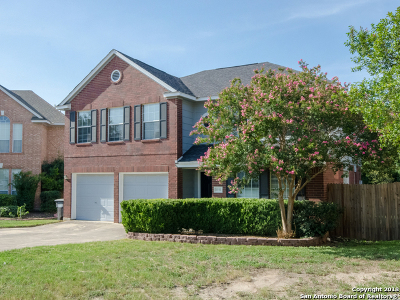 Bexar County Single Family Home New: 1543 Crescent View