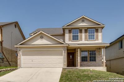 Bexar County Single Family Home New: 24607 Corral Gables