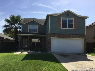 Helotes Single Family Home New: 7615 Monte Seco
