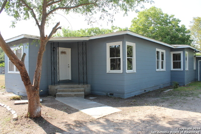 Bexar County Single Family Home New: 611 Rice Rd