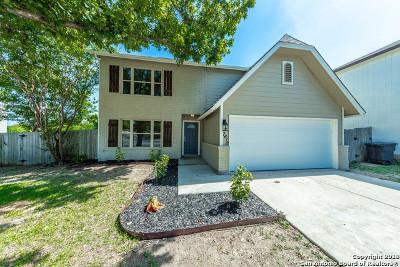 Bexar County Single Family Home New: 7618 Cascade Oak Dr