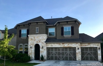 Bexar County Single Family Home New: 18039 Branson Falls