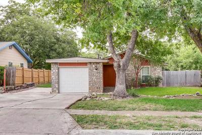 Bexar County Single Family Home New: 12306 El Santo Way