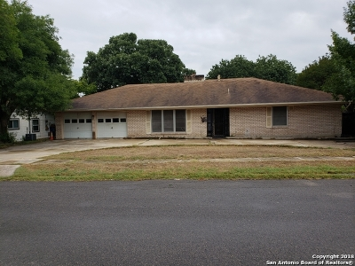 San Antonio Single Family Home Price Change: 219 Harrow Dr