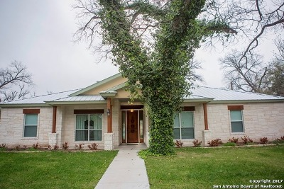 Uvalde Single Family Home For Sale: 418 High St