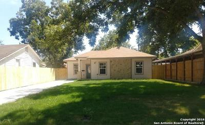Single Family Home For Sale: 1418 W Hollywood Ave