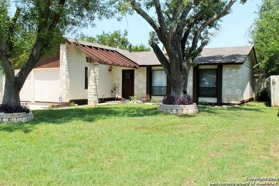 San Antonio TX Single Family Home Back on Market: $159,900