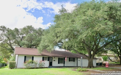 Terrell Hills Single Family Home Active Option: 416 Rittiman Rd