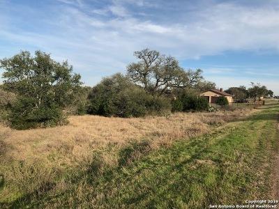 New Braunfels Residential Lots & Land Back on Market: 2111 Granada Hills