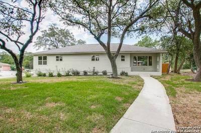 Terrell Hills Single Family Home Price Change: 548 Rittiman Rd