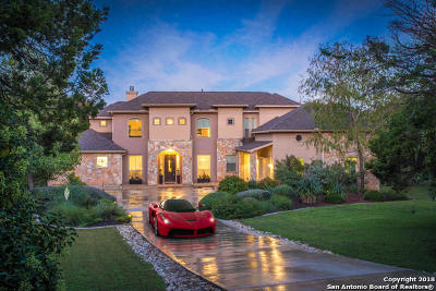 Helotes Single Family Home Price Change: 15820 Chinquapin