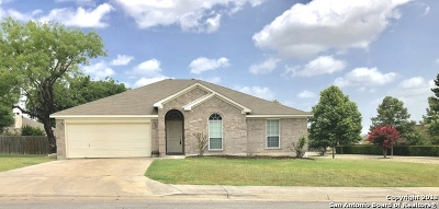 New Braunfels Single Family Home Active Option: 1752 Jasons South Ct