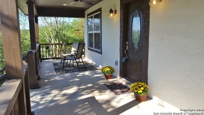 New Braunfels Single Family Home Price Change: 1210 Shady Hollow