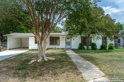 San Antonio Single Family Home Price Change: 215 Metz Ave