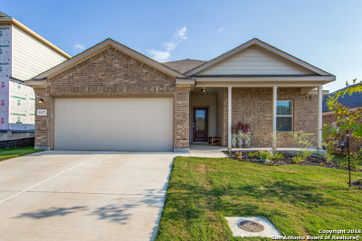 Bulverde Single Family Home Active Option: 5137 Blue Ivy
