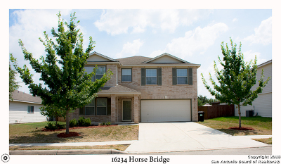 Selma Single Family Home Active Option: 16234 Horse Bridge