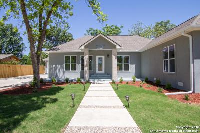 San Antonio Single Family Home For Sale: 2707 Albin Dr