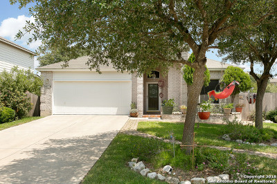 Helotes Single Family Home Price Change: 9754 Magic Cedar