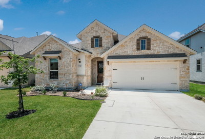 Boerne TX Single Family Home Price Change: $374,900