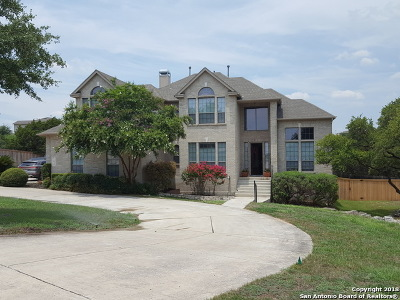 San Antonio Single Family Home For Sale: 22030 Roan Bluff