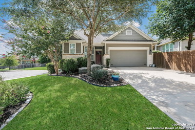 Heights At Stone Oak Single Family Home For Sale: 326 Mirror Lk