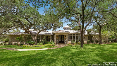 Boerne Single Family Home Price Change: 205 Cibolo Ridge Trail